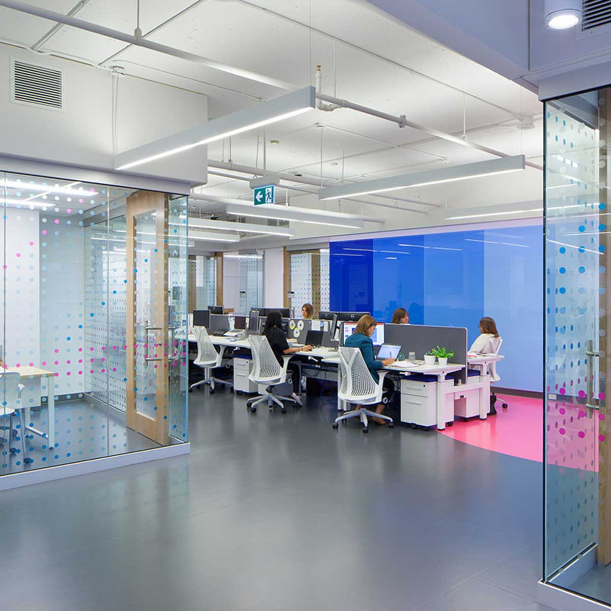 Artigo supplied their popular Kayar rubber Flooring to the Brookfield Institute. Kayar rubber is available from Chroma Global Flooring Solutions