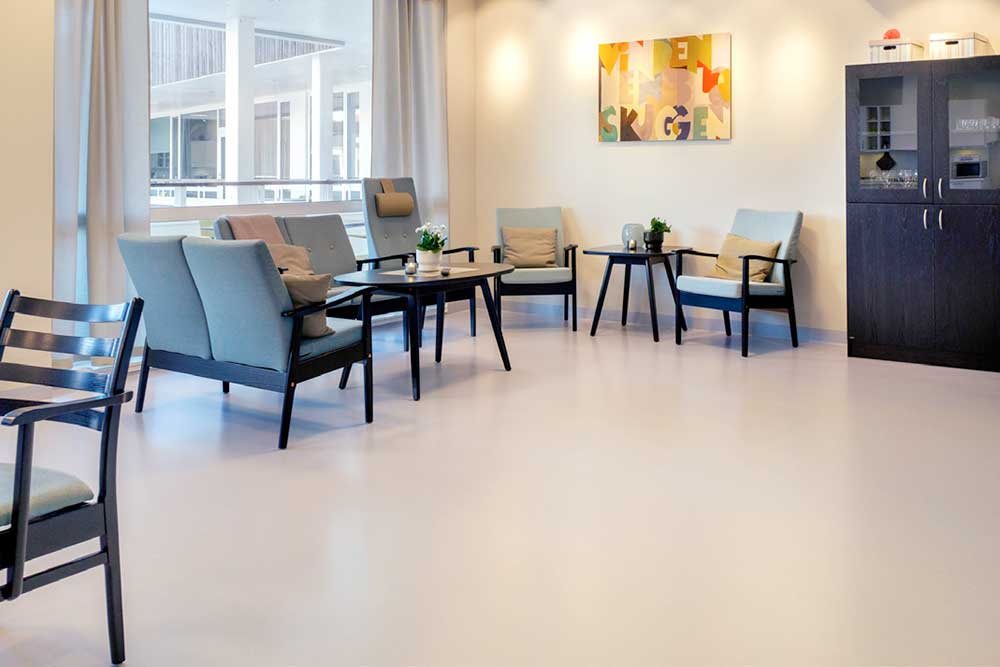 For this project Chroma Global Flooring brand Artigo provided 1700 sqm of Kayar flooring