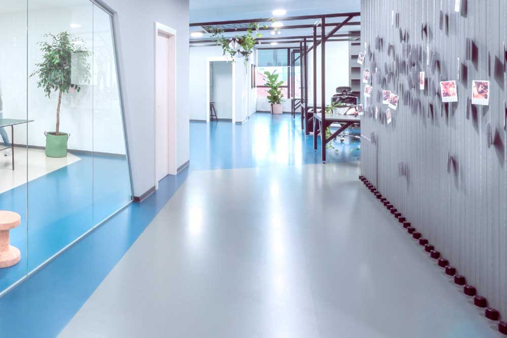 Artigo Rubber has a large choice of floor covering Greenguard certified and is available from Chroma Global Flooring