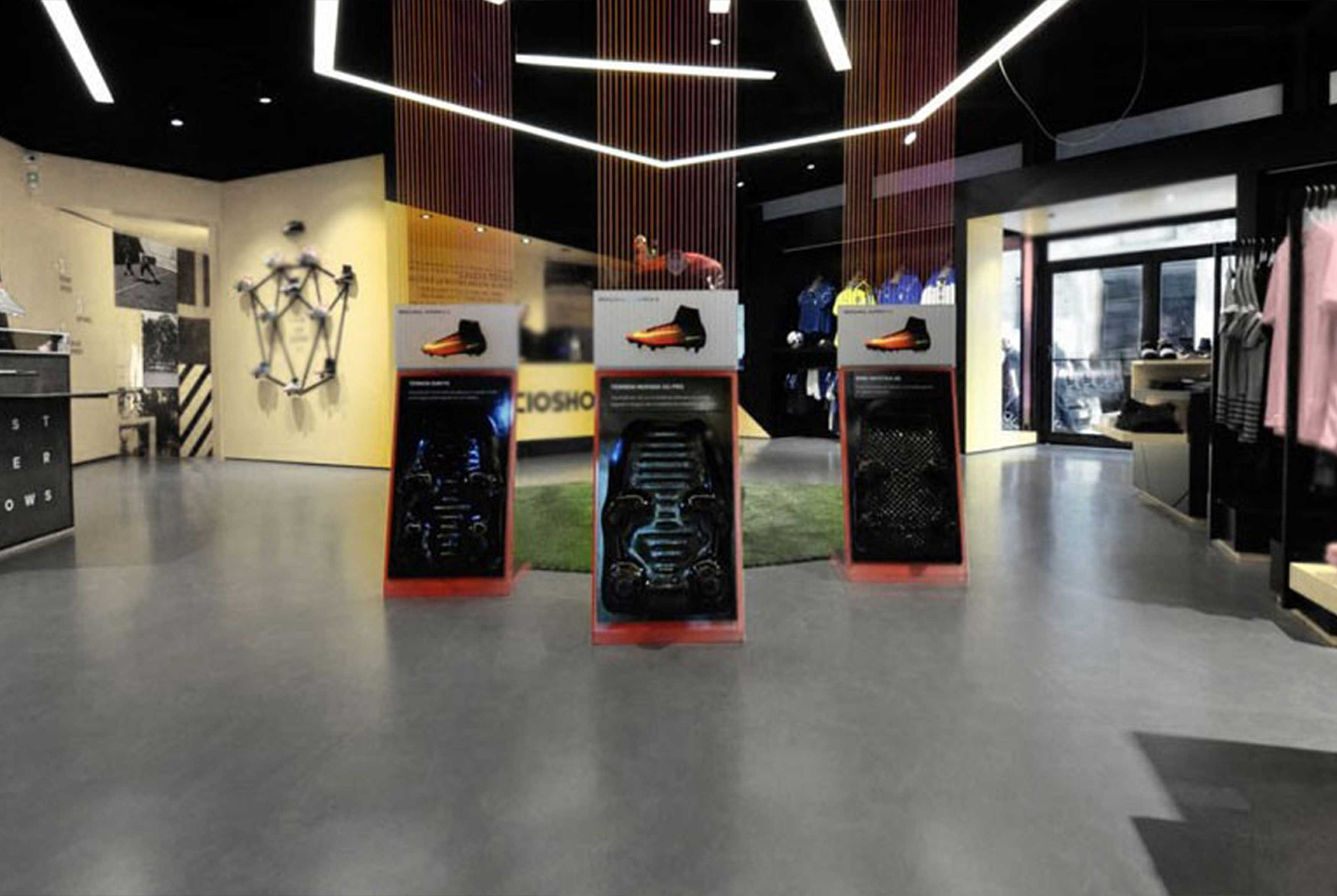 Calcioshop designers chose Screed by Chroma Global brand partner Artigo for concrete look