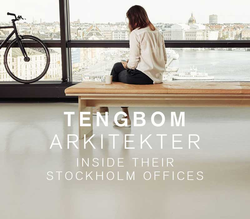 Chroma Global brand partner Artigo provided ND/UNI LL rubber flooring for Tenbom Architects in Stockholm, Sweden