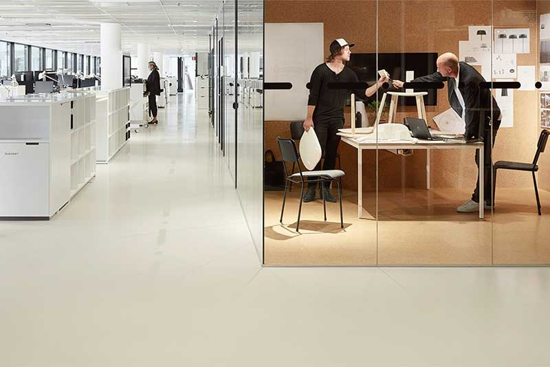 Artigo ND/UNI LL is perfect for raised floor applications in offices