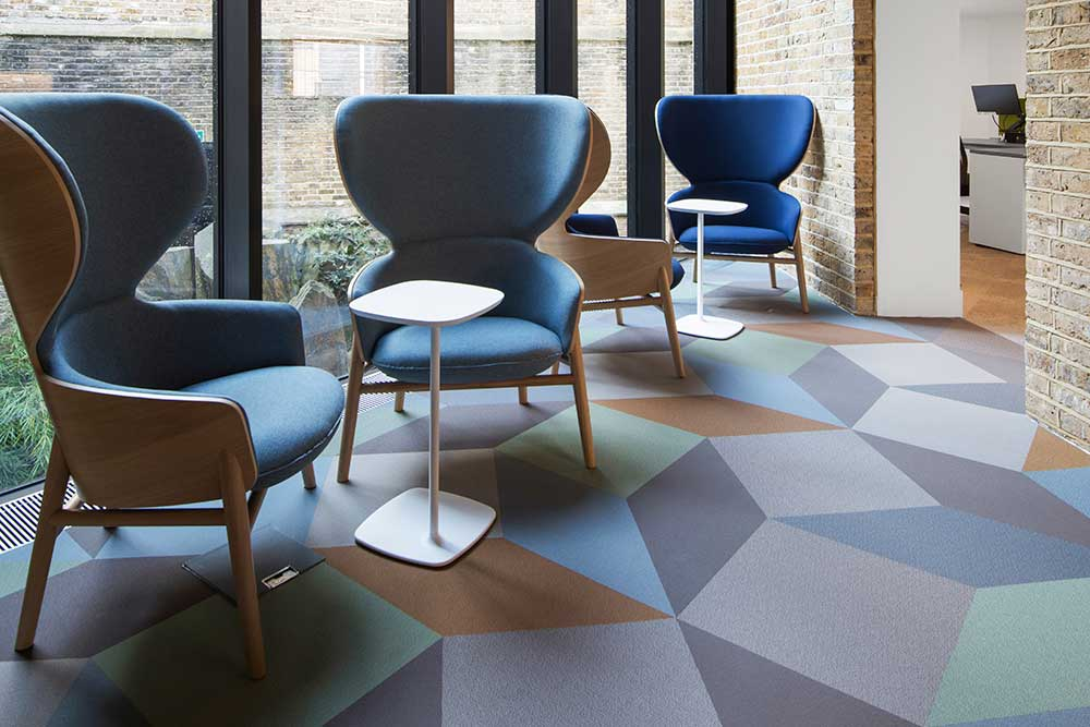 Fitnice vinyl vinyl is fun flexible flooring available in planks, tiles and shapes - available from Chroma Global Flooring Solutions